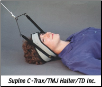 Supine C-Trax for TMJ