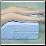 "Higher Elevation Orthopedic Bed Wedge - 10""x 20""x 30.5"""